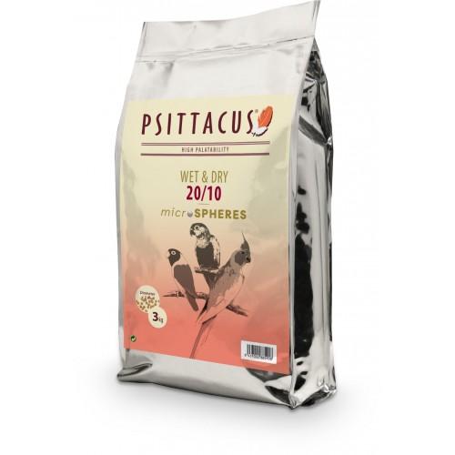 PSITTACUS WET & DRY MICROSPHERES 20/10 800 GR