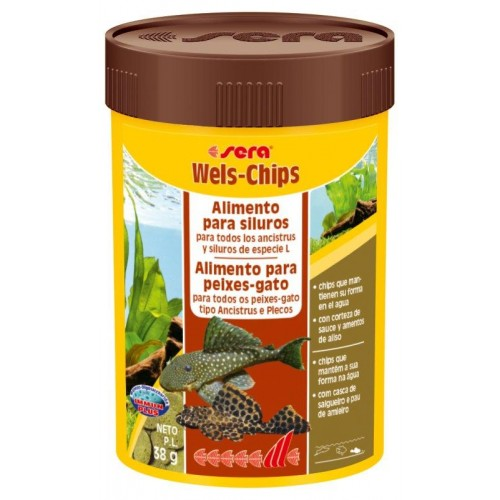 SERA WELS CHIPS 100 ML 38 GR