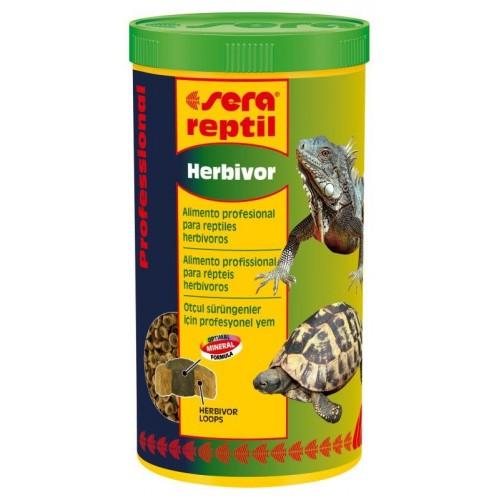 SERA REPTIL HERBIVOR 350 gr. 1 lt