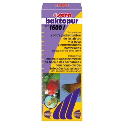 SERA BAKTOPUR 100 ml. PARA 1600 LT