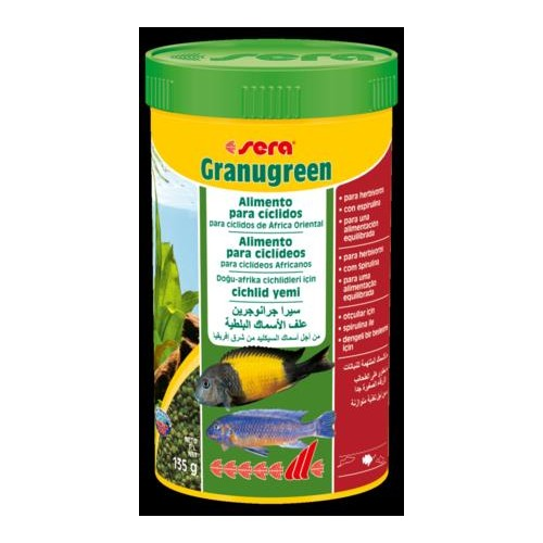 SERA GRANUGREEN 250 ML 135 GR