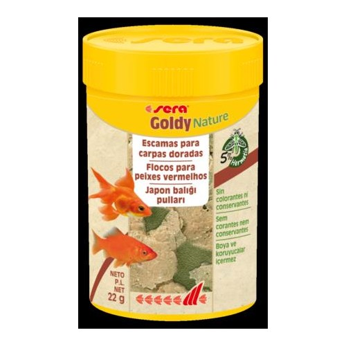 SERA GOLDY NATURE 100 ML