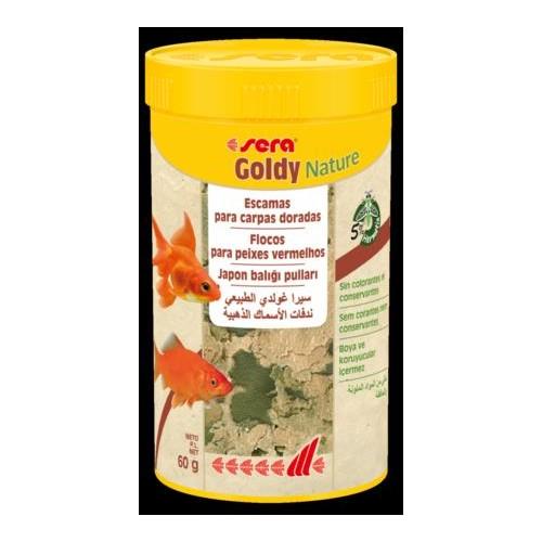 SERA GOLDY NATURE 250 ML