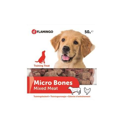 GOLOSINA PERRO MICRO BONES 50 GR