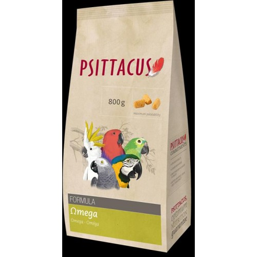 PSITTACUS OMEGA PIENSO 800 GR