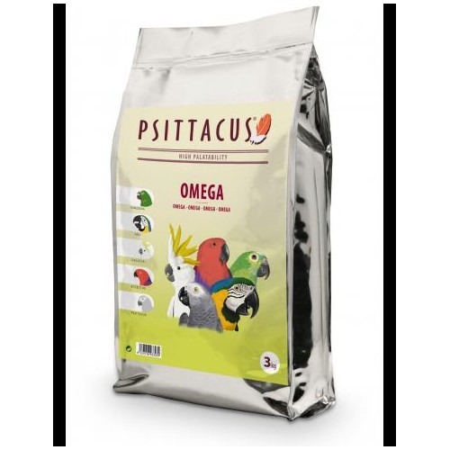 PSITTACUS OMEGA PIENSO 3 kg