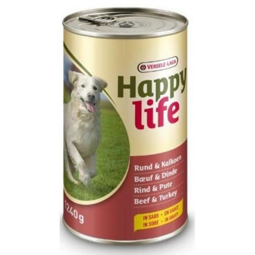 LATA HAPPY LIFE BUEY & PAVO 415 GR