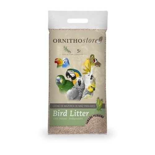 PSITTACUS BIRD LITTER ORNITHOSTORE 5 L PEQUEÑO 3 KG