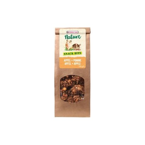 SNACK NATURE BITS APPLE 100GR