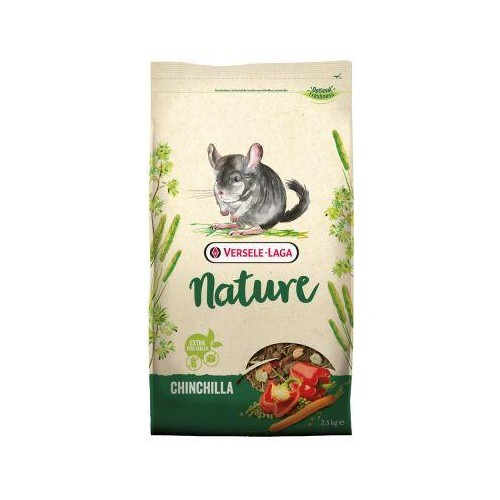 CHINCHILLA NATURE 9 KG.