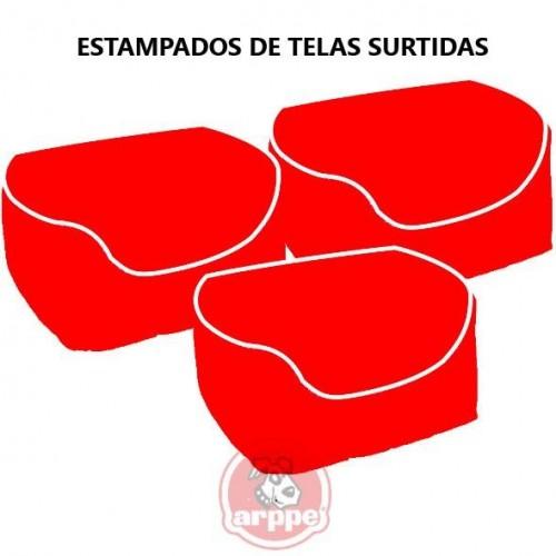 CUNA CUADRADA 55x45x18 CM COLORES SURTIDOS