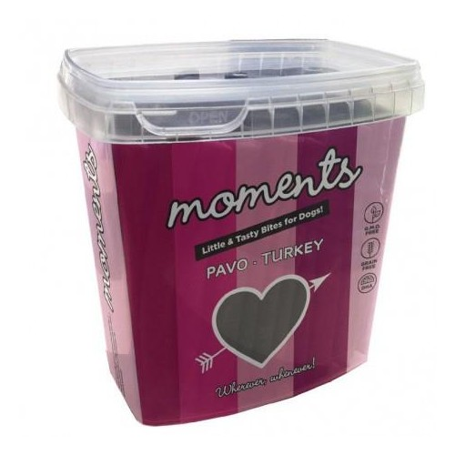 MOMENTS DOG BARRITAS PAVO 600 GR