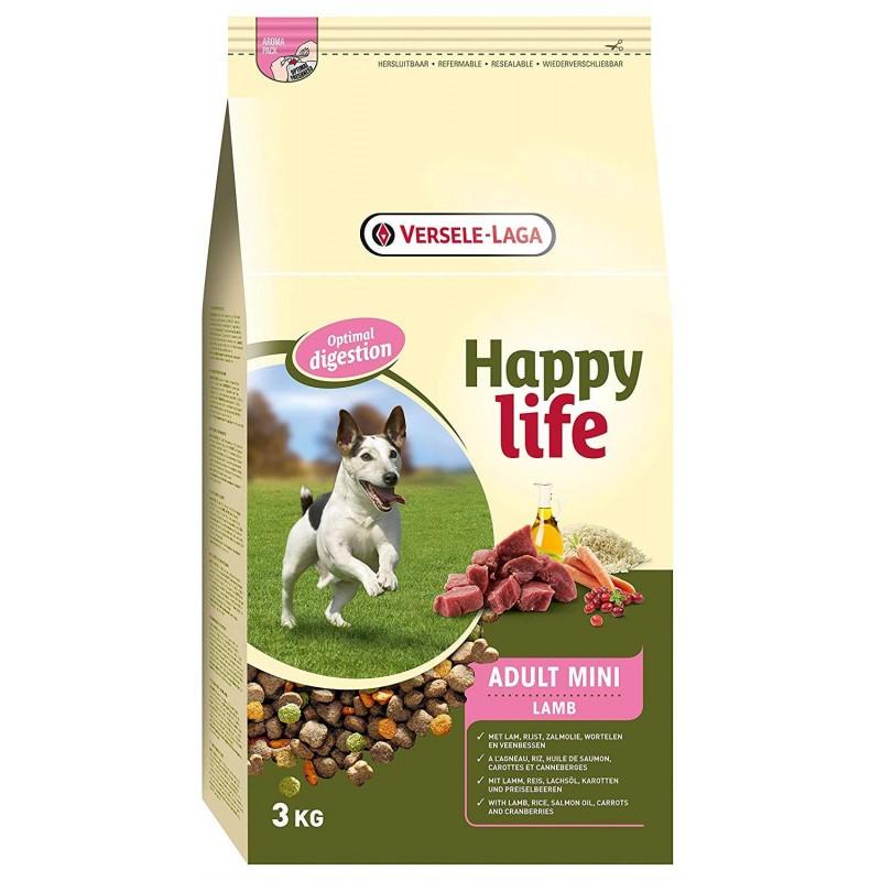 HAPPY LIFE ADULT MINI LAMB 3 KG