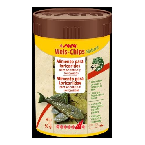 SERA WELS CHIPS NATURE 100 ML 38 GR