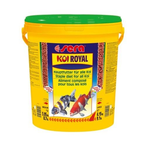 SERA KOI ROYAL 21 LT. 3950 GR