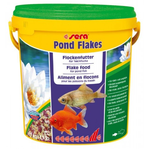 SERA POND FLAKES 10 LT. 1.7 KG