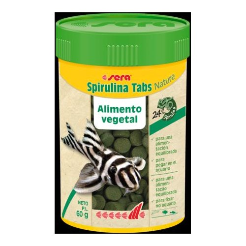 SERA SPIRULINA TABS NATURE 100 ML 60 GR