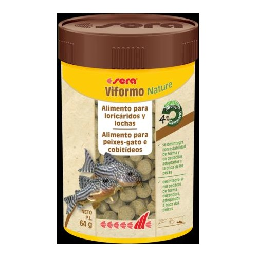 SERA VIFORMO NATURE 100 ML. 275 tabl.64 GR