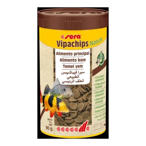 SERA VIPACHIPS NATURE 250 ML 90 GR