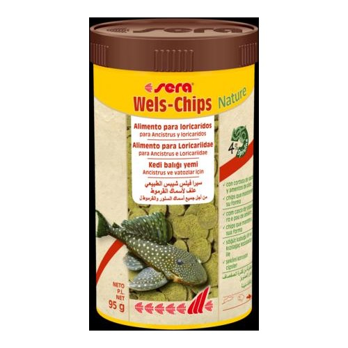 SERA WELS CHIPS NATURE 250 ML 38 GR