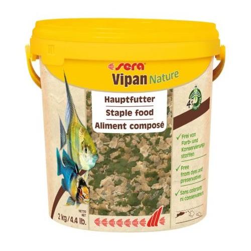 SERA VIPAN NATURE 2 kg ESCAMAS GRANDES