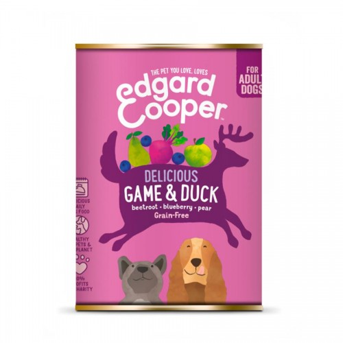 EDGARD COOPER LATA GAME/DUCK 400 GR ADULTO