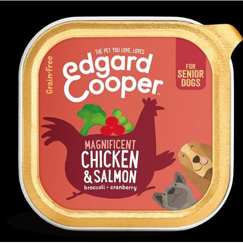 EDGARD COOPER TARRINA CHICKEN/SALMON 150 GR SENIOR