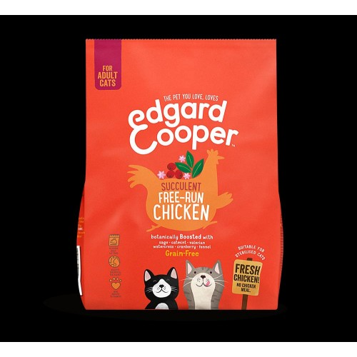 EDGARD COOPER CAT CHICKEN 300 GR ADULTO