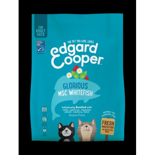 EDGARD COOPER CAT WHITEFISH 300 GR ADULTO