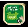 EDGARD COOPER TARRINA LAMB/BEEF 85 GR ADULTO
