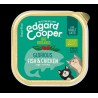 EDGARD COOPER TARRINA ORGANIC FISH/CHICKEN 85 GR ADULTO