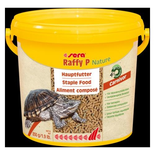 SERA RAFFY P NATURE 3800 ml 850 GR