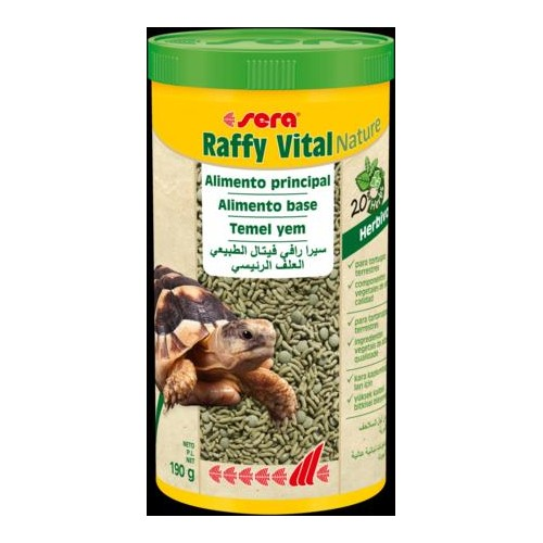 SERA RAFFY VITAL NATURE 1 lt. 190 GR