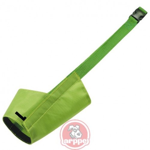BOZAL NYLON COLOR T.L 21.5 CM VERDE