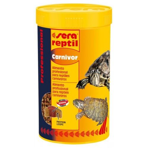 SERA REPTIL CARNIVOR 85 gr. 250ml