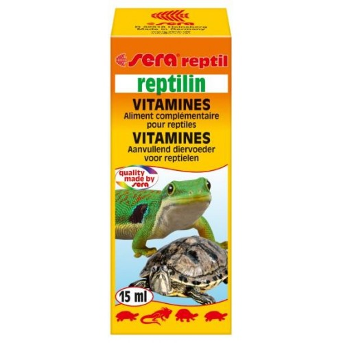 SERA REPTILIN VITAMIN 15 ml.