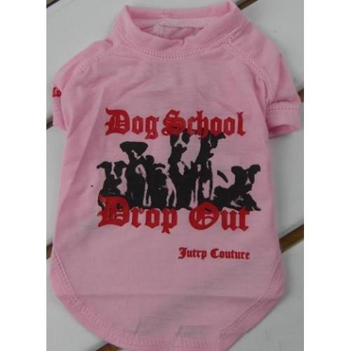 CAMISETA JUICY SCHOOL ROSA T.XS 21CM