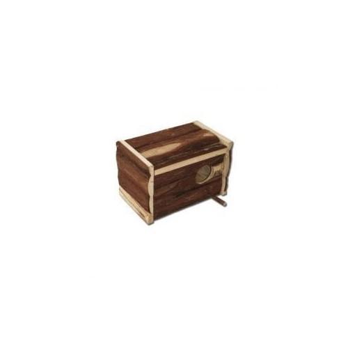 NIDO MADERA AGAPORNI/NINFA NATURAL BOX 30x20x20