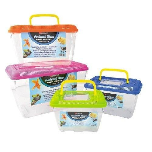 TRANSPORTIN PECERA ANIMAL BOX MINI 18x11.5x13/1.5 LT