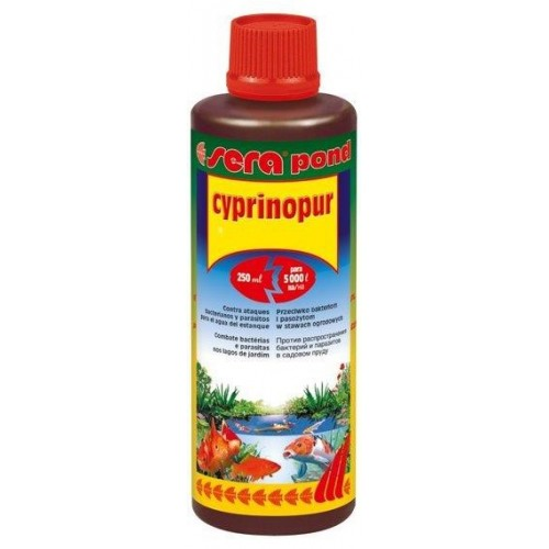 SERA POND CYPRINOPUR 250 ml.