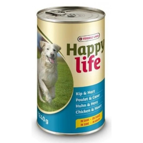 LATA HAPPY LIFE POLLO & CORAZON 415 GR