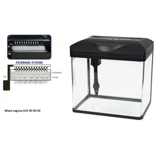 ACUARIO WAVE LAGUNA LED 40-32 LT