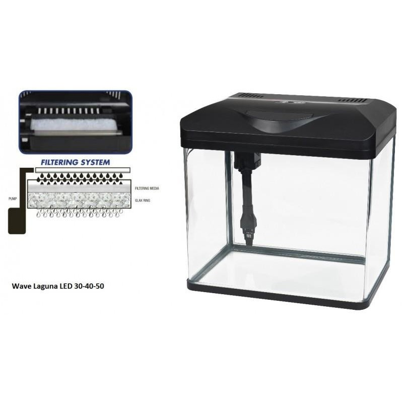 Wave Laguna Led 40 Fische & Aquarien