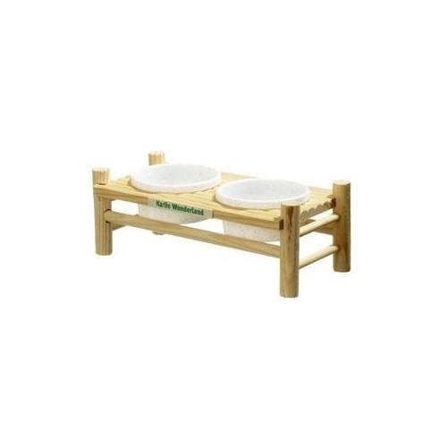 COMEDERO ROEDOR TABLA WONDERLAND 24X11,5X8,5CM