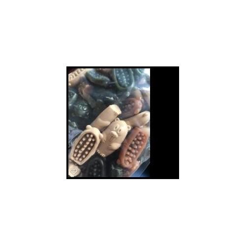 CASTOR DENTAL VEGGIE MIX 10 CM EXP.20 UD